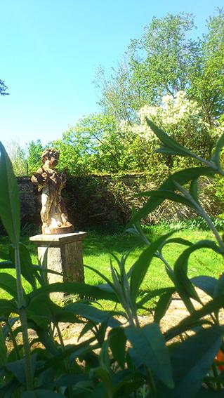 Angelot du jardin