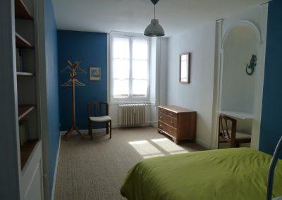 Chambre bleue suite familiale