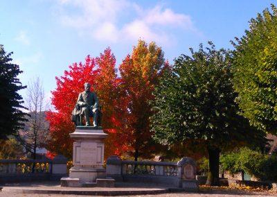 Pasteur aux couleurs d'automne